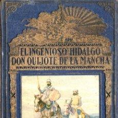 Libros de segunda mano: DON QUIJOTE DE LA MANCHA - MIGUEL DE CERVANTES - EDITORIAL RAMON SOPENA 1939. Lote 288921808