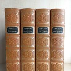 Libros de segunda mano: DON QUIJOTE. MIGUEL DE CERVANTES. AGUILAR PARA CLUB INTERNACIONAL DEL LIBRO, 1983. EDICIÓN DE LUJO.. Lote 289555348