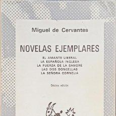Libros de segunda mano: MIGUEL DE CERVANTES, NOVELAS EJEMPLARES: EL AMANTE LIBERAL, LA ESPAÑOLA INGLESA, LA FUERZA DE LA SAN. Lote 289929673