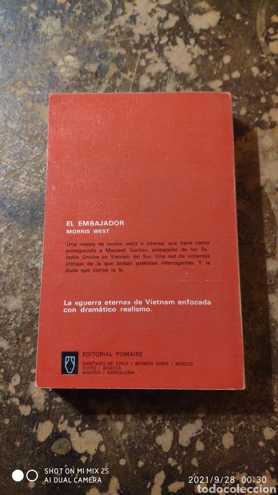 Libros de segunda mano: EL EMBAJADOR (MORRIS WEST) (POMAIRE) - Foto 2 - 290147023