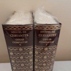 Libros de segunda mano: OBRAS COMPLETAS AGUILAR DE MIGUEL DE CERVANTES. Lote 293561053