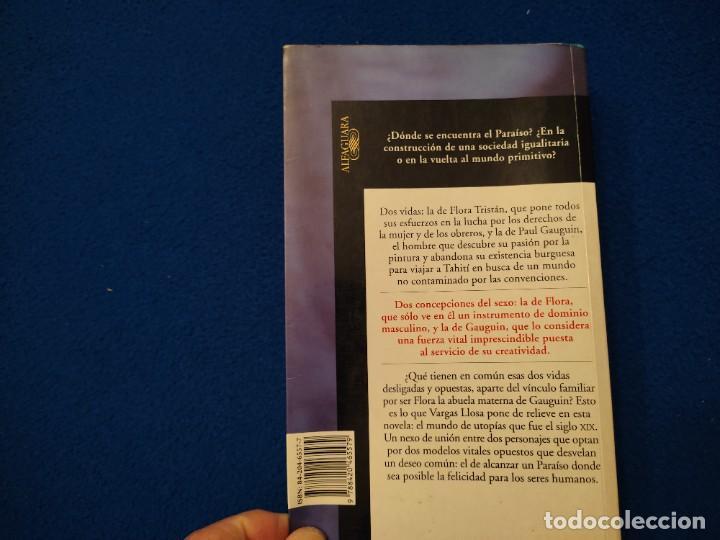 Libros de segunda mano: El Paraiso en la otra Esquina M. Vargas Llosa Santillana Ediciones 2003 - Foto 3 - 293676548