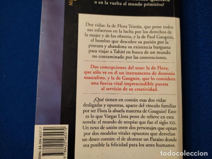 Libros de segunda mano: El Paraiso en la otra Esquina M. Vargas Llosa Santillana Ediciones 2003 - Foto 4 - 293676548