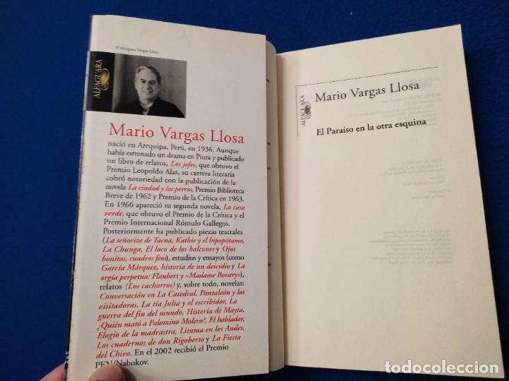 Libros de segunda mano: El Paraiso en la otra Esquina M. Vargas Llosa Santillana Ediciones 2003 - Foto 5 - 293676548