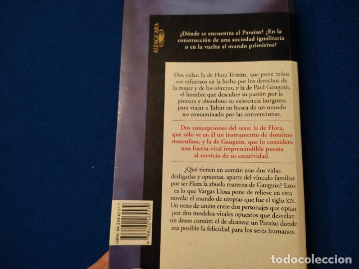 Libros de segunda mano: El Paraiso en la otra Esquina M. Vargas Llosa Santillana Ediciones 2003 - Foto 7 - 293676548