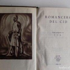 Libros de segunda mano: LIBRERIA GHOTICA. ROMANCERO DEL CID. AGUILAR 1944. CRISOL 41. PAPEL BIBLIA.. Lote 294095988