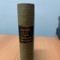 Libros de segunda mano: TRES NARRACIONES MARAVILLOSAS. ROBERT LOUIS STEVENSON.EDICIONES LA NAVE. MADRID 1942.. Lote 294374793