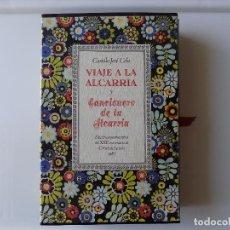 Libros de segunda mano: LIBRERIA GHOTICA. LUJOSA EDICIÓN DEL VIAJE A LA ALCARRIA DE CAMILO JOSE CELA.1987.FOLIO.ILUSTRADO. Lote 295534688