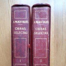 Libros de segunda mano: ARMANDO PALACIO VALDÉS - OBRAS SELECTAS - PLANETA - 1963. Lote 295609258