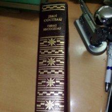 Libros de segunda mano: JEAN COCTEAU - OBRAS ESCOGIDAS - AGUILAR AÑO 1969.EN PIEL. Lote 295649473