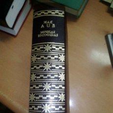 Libros de segunda mano: NOVELAS ESCOGIDAS - MAX AUB - AGUILAR 1A. EDICIÓN 1970. Lote 295682868