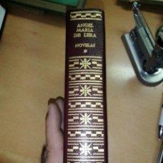 Libros de segunda mano: ÁNGEL MARÍA DE LERA NOVELAS AGUILAR 1967 ENCUADERNADO EN PIEL. Lote 295686158