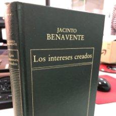 Libros de segunda mano: JACINTO BENAVENTE - LOS INTERESES CREADOS. Lote 297029933