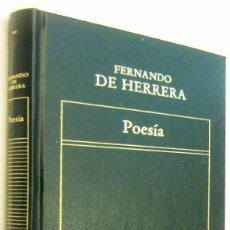 Libros de segunda mano: POESIA - FERNANDO DE HERRERA. Lote 297353813