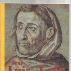 Libros: PENSAMIENTOS Y REFLEXIONES. FRAY LUIS DE LEÓN. CONSORCIO SALAMANCA. 2002. Lote 47999113