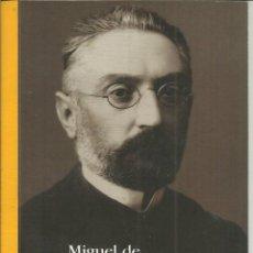 Libros: PENSAMIENTOS Y SENTIMIENTOS. MIGUEL DE UNAMUNO. CONSORCIO SALAMANCA. 2002 . Lote 47999144