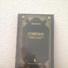 Libros: MENANDRO: COMEDIAS. Lote 58537693
