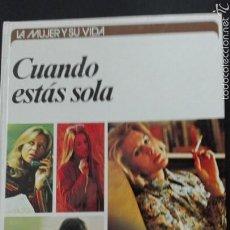 Libros: CUANDO ESTÁS SOLA ANN QRSTRONG CÍRCULO DE LECTORES. Lote 63400722