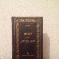 Libros: OVIDIO: AMORES. ARTE DE AMAR. Lote 86486328
