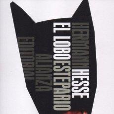 Libros: EL LOBO ESTEPARIO DE HERMANN HESSE - ALIANZA EDITORIAL, 2016, BOLSILLO (NUEVO). Lote 87447464
