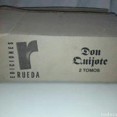 Libros: EL INGENIOSO HIDALGO DON QUIJOTE DE LA MANCHA. OBRA COMPLETA. 2 TOMOS EL INGENIOSO HIDALGO DON QUIJO. Lote 88877040