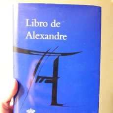 Libros: LIBROS DE ALEXANDRE, JUAN CASAS, RAE. 2014, PERFECTO ESTADO. Lote 88934920