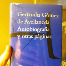 Libros: AUTOBIOGRAFIA Y OTRAS PAGINAS, GERTRUDIS GOMEZ. ED. RAE, 2015. PERFECTO ESTADO. Lote 88936428