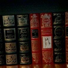 Libros: GRANDES GENIOS DE LA LITERATURA, 50 LIBROS. Lote 94621836