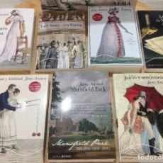 Libros: JANE AUSTEN BICENTENARIO. LOTE DE 7 LIBROS NUEVOS. ENVÍO GRATIS A ESPAÑA. Lote 94715807