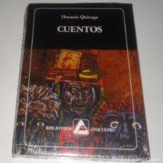 Libros: CUENTOS POR HORACIO QUIROGA TAPA DURA. Lote 96660331