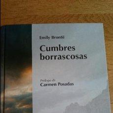 Libros: CUMBRES BORRASCOSAS, EMILI BRONTË. Lote 100247291