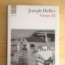 Libros: TRAMPA 22, DE JOSEPH HELLER (RBA) TAPA DURA. Lote 101986906