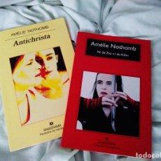 Libros: LIBROS AUTORA AMELIE NOTHOMB LITERATURA JAPONESA. Lote 102392083