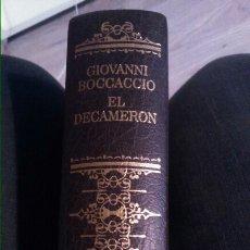 Libros: GIOVANNI BOCACCIO - EL DECAMERON 603P. Lote 102769324