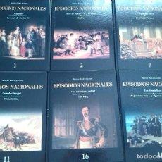 Libros: LIBROS LOS EPISODIOS NACIONALES BENITO PEREZ GALDOS EDICION DE LUJO ILUSTRADA COLECCION COMPLETA. Lote 103376795