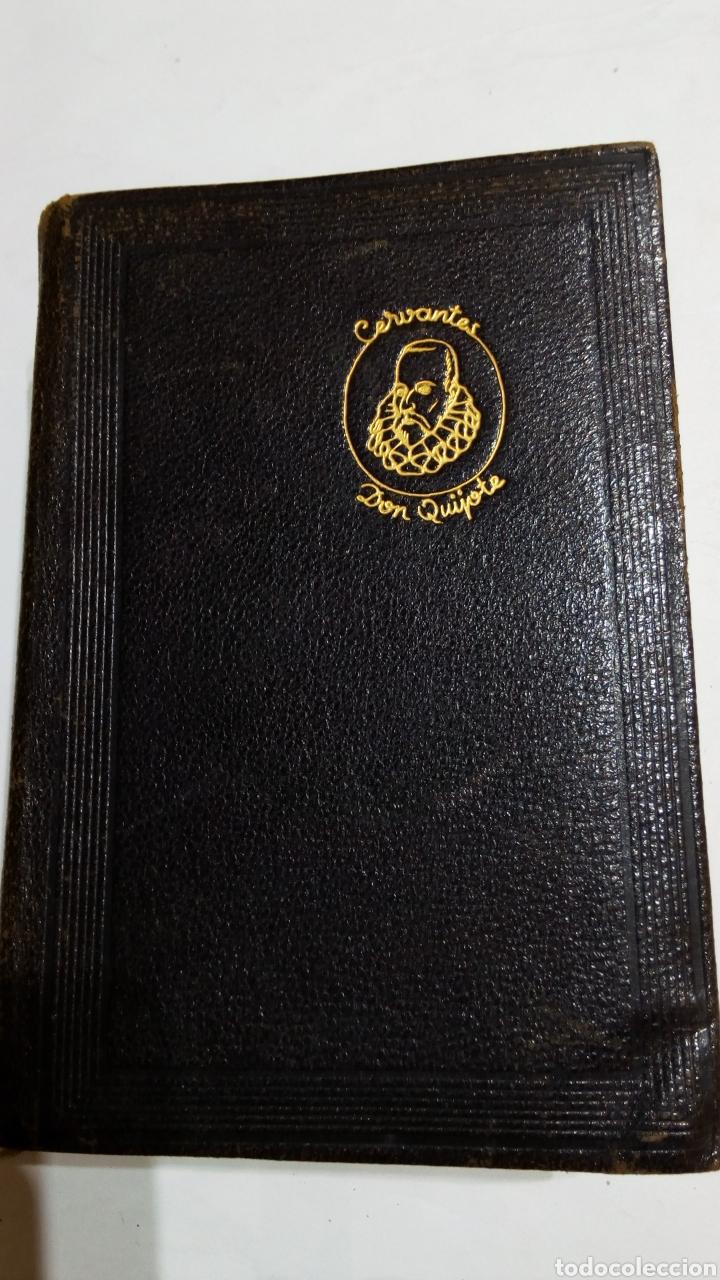 Libros: Libro El ingenioso hidalgo don quijote de la Mancha. M Aguilar 1949. Miguel de Cervantes Saavedra - Foto 2 - 105100024