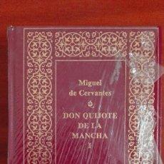 Libros: DON QUIJOTE DE LA MANCHA EDICIÓN DE LUJO, NUEVO, PRECINTADO. Lote 105141523
