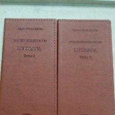 Libros: LUCHANA 2 TOMOS ( EPISODIOS NACIONALES ) BENITO PEREZ GALDOS. Lote 106187059