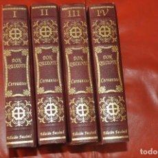 Libros: EL INGENIOSO HIDALGO DON QUIXOTE DE LA MANCHA - QUIJOTE - EDICION FACSIMIL - 1994 - ED. OLIMPO. Lote 111583655