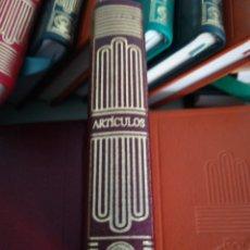 Libros: CRISOLIN 25 COLECCIÓN CRISOL SXXI ARTÍCULOS LARRA. Lote 113981131