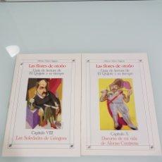 Libros: LAS FLORES DE OTOÑO GUIA DE LECTURA DE EL QUIJOTE Y SU TIEMPO CAPIT. VIII Y X. Lote 114128247