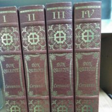 Libros: EL INGENIOSO HIDALGO DON QUIXOTE DE LA MANCHA (ED. FACSIMIL). Lote 120447511