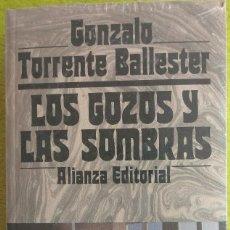 Libros: LIBRO LOS GOZOS Y LAS SOMBRAS - TRILOGIA - GONZALO TORRENTE BALLESTER (PRECINTADOS). Lote 121368199