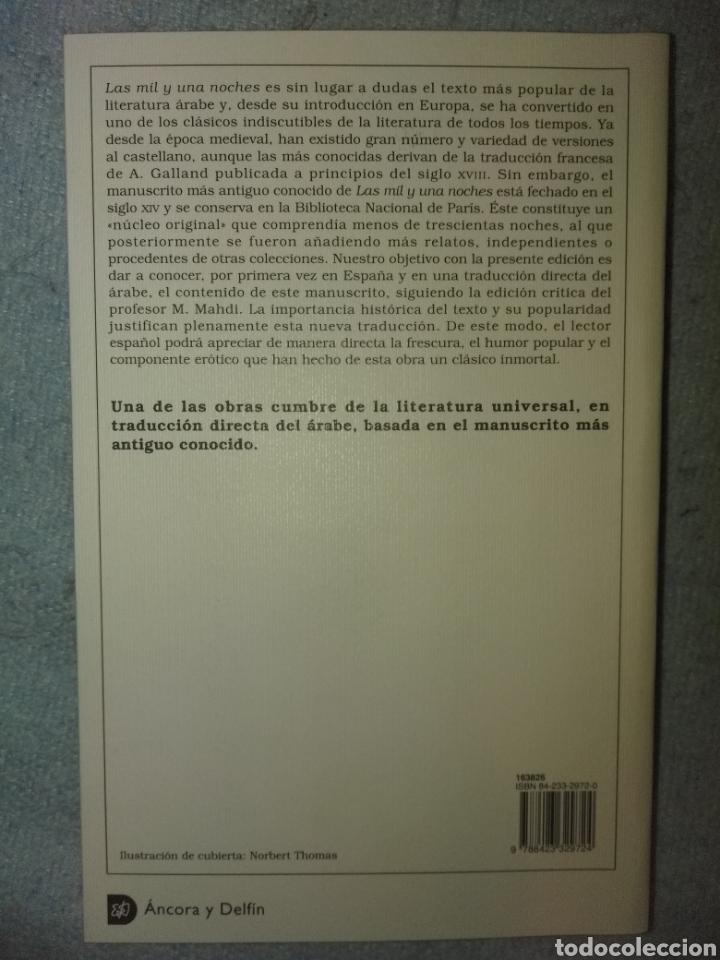 Libros: Las mil y una noches. Ed. Destino - Foto 2 - 122528780
