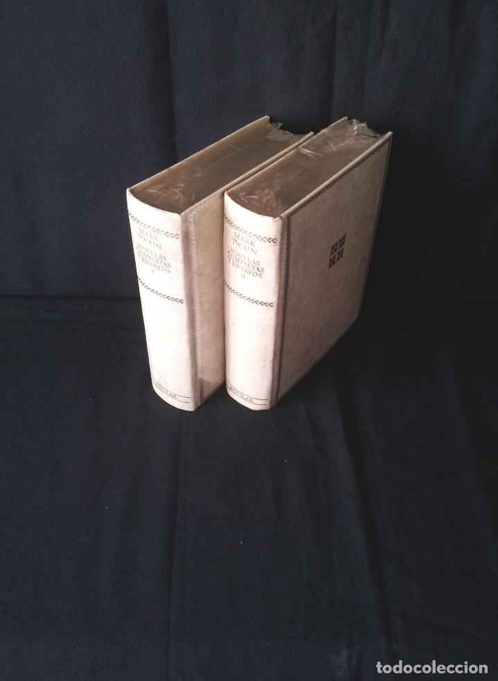 MARK TWAIN - NOVELAS COMPLETAS Y ENSAYOS (2 TOMOS) - AGUILAR EDICION CINCUENTENARIO (SIN ABRIR) (Libros Nuevos - Literatura - Narrativa - Clásicos Universales)