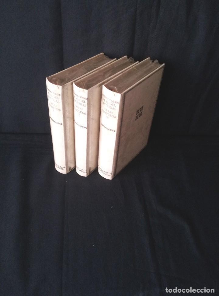 MIGUEL ANGEL ASTURIAS - OBRAS COMPLETAS (3 TOMOS) - AGUILAR EDICION CINCUENTENARIO (SIN ABRIR) (Libros Nuevos - Literatura - Narrativa - Clásicos Universales)