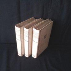 Libros: MIGUEL ANGEL ASTURIAS - OBRAS COMPLETAS (3 TOMOS) - AGUILAR EDICION CINCUENTENARIO (SIN ABRIR). Lote 124020643