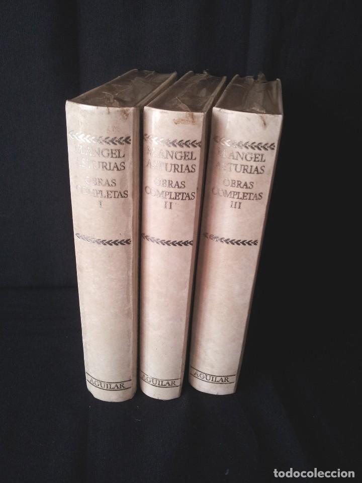 Libros: MIGUEL ANGEL ASTURIAS - OBRAS COMPLETAS (3 TOMOS) - AGUILAR EDICION CINCUENTENARIO (SIN ABRIR) - Foto 2 - 124020643