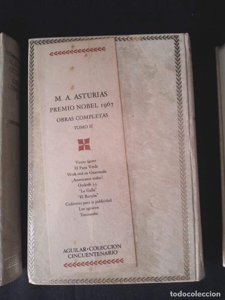 Libros: MIGUEL ANGEL ASTURIAS - OBRAS COMPLETAS (3 TOMOS) - AGUILAR EDICION CINCUENTENARIO (SIN ABRIR) - Foto 4 - 124020643