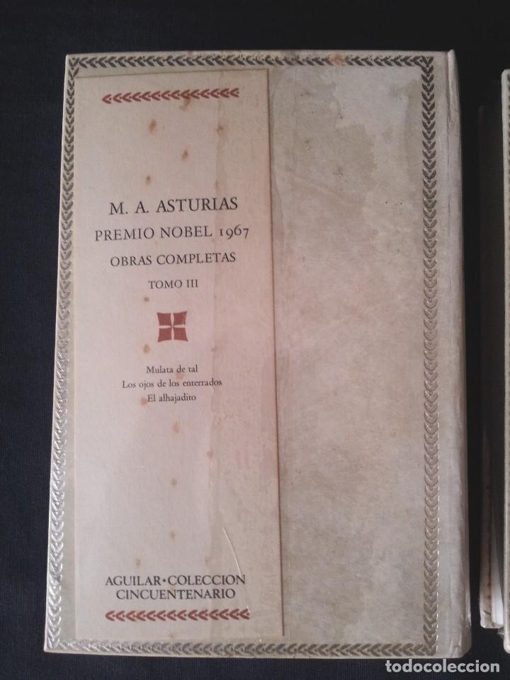 Libros: MIGUEL ANGEL ASTURIAS - OBRAS COMPLETAS (3 TOMOS) - AGUILAR EDICION CINCUENTENARIO (SIN ABRIR) - Foto 5 - 124020643